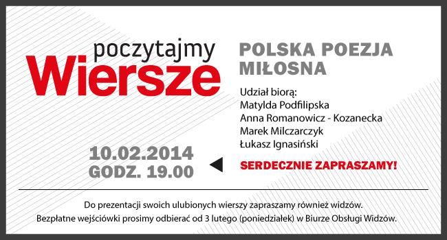Kolejne Spotkanie Z Cyklu Poczytajmy Wiersze Polska Poezja